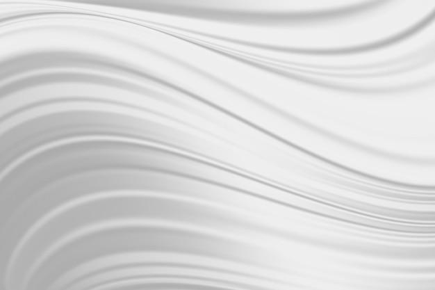 Textura de seda de tela blanca abstracta. ondas de leche para el fondo