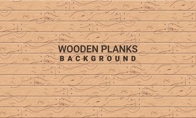 Textura de tablones de madera