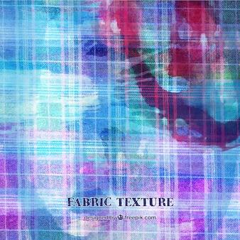 Textura de tela azul y rosa