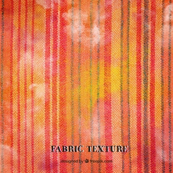 Textura de tela roja y naranja