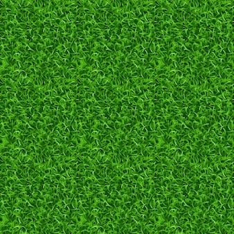 Textura de vector de hierba sin costuras