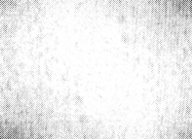 Textura de vector de puntos de semitono