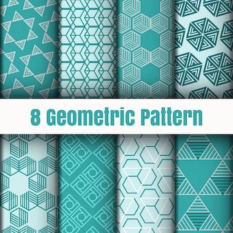 Texturas geométricas de la superficie del fondo del papel pintado del modelo