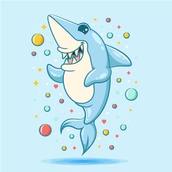 Tiburon caricatura