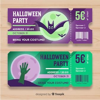 Tickets de halloween