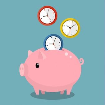 El tiempo es dinero.