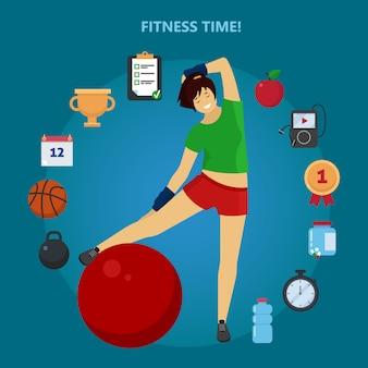 Tiempo de fitness