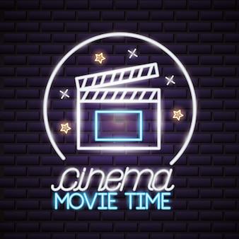 Tiempo de película de neón