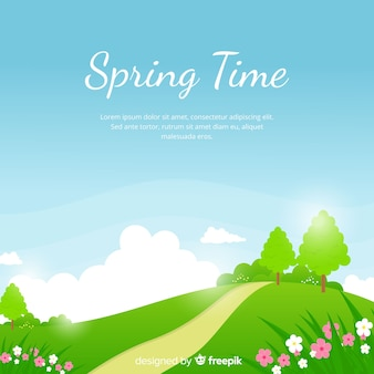 Tiempo de primavera