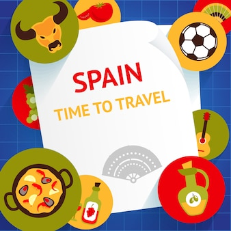 Tiempo para viajar a españa atracciones turísticas de viaje.