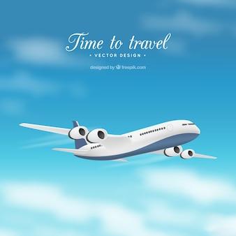 Tiempo de viajar Vector Premium