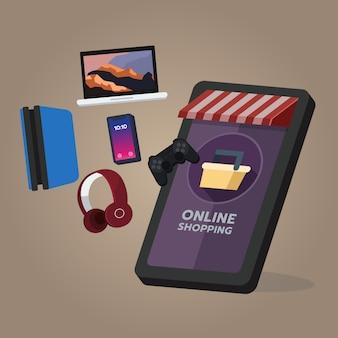 Tienda de compras en línea