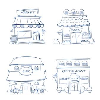 Tienda de dibujado a mano