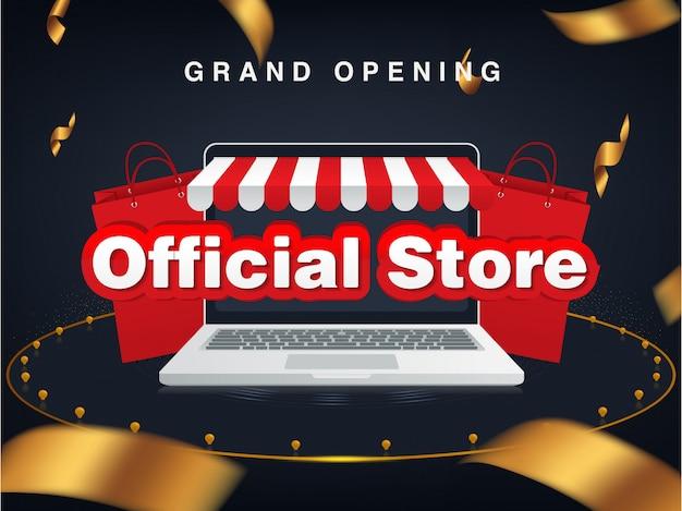 Tienda oficial tienda online, gran apertura. venta de fondo