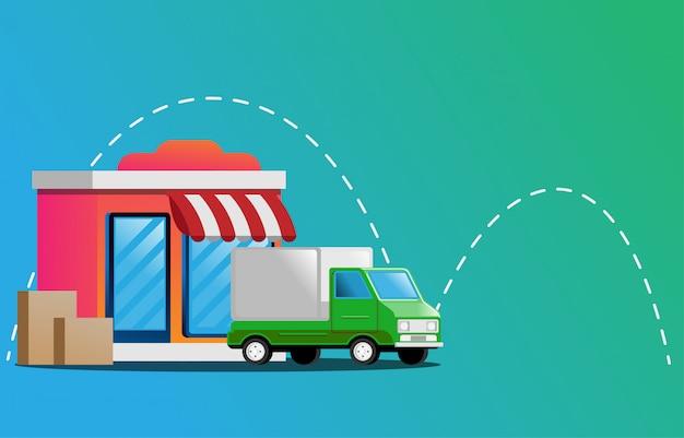 Tienda online de camiones de reparto