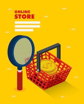 Tienda online con cesta de compra