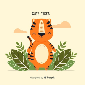 Tigre adorable