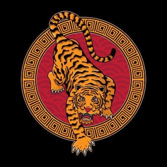 Tigre chino tradicional