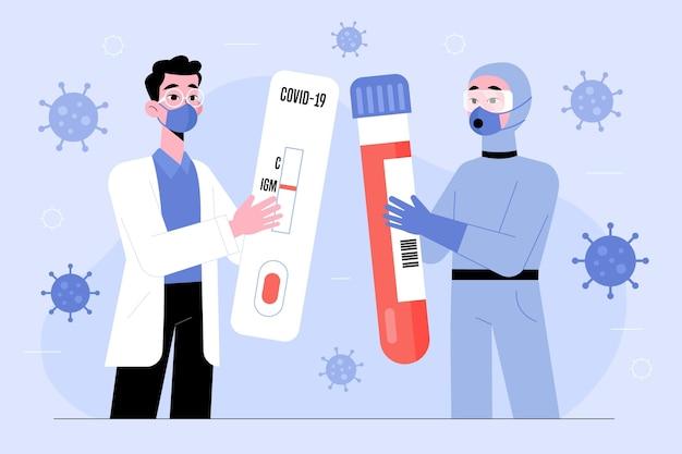 Tipo de prueba de coronavirus