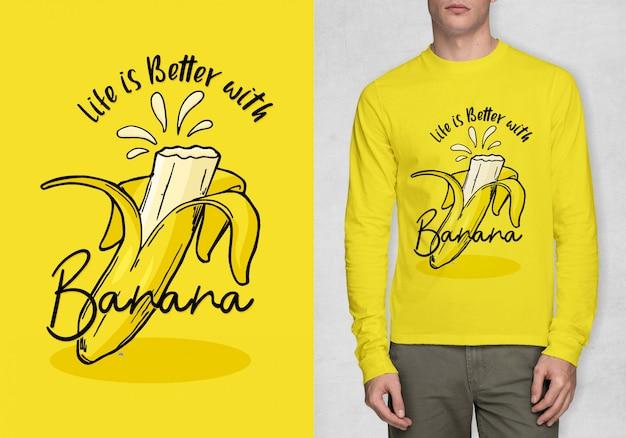Tipografía de inspiración para camiseta.
