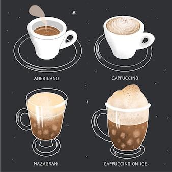 Tipos de café aromático para un amante del café.