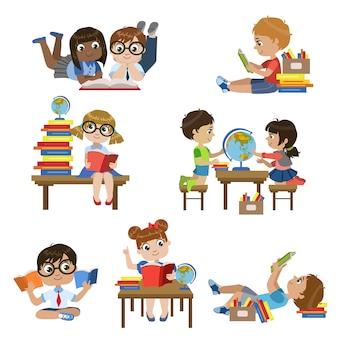 Tipos en conjunto de biblioteca