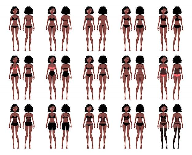 Tipos de ropa interior de mujer