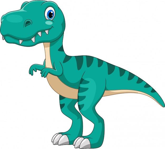 Tiranosaurio de dibujos animados