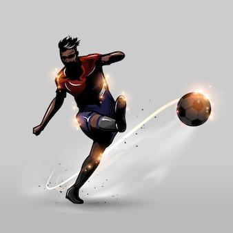Tiro libre de fútbol