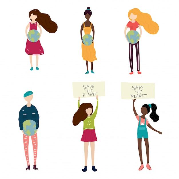 Todas chicas y hombre