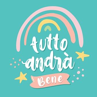 Todo estará bien en italiano