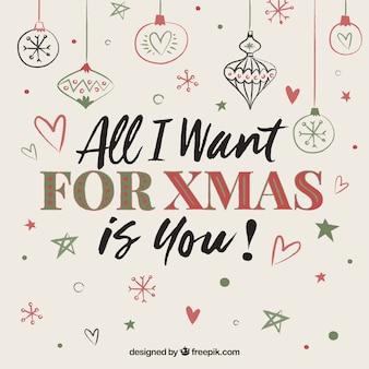 Todo lo que quiero para navidad eres tu