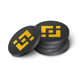 Tokens de criptomonedas de monedas binance