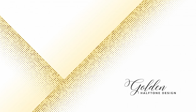 Tono medio dorado elegante sobre fondo blanco.
