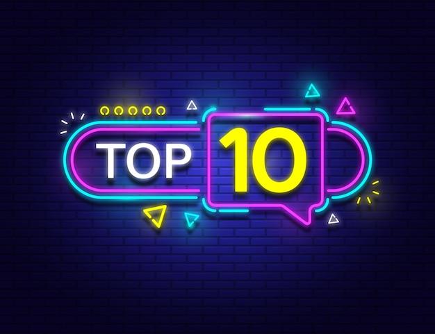 Top 10 de luces de neón