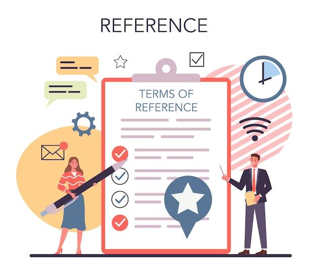 Tor - concepto de término de referencia