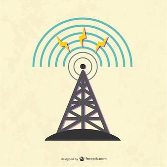 Torre de radio