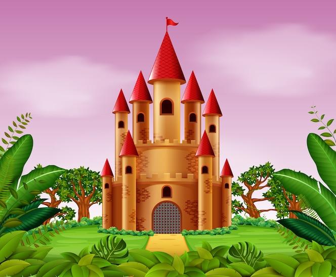 Torres de castillo en la jungla