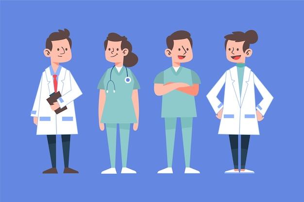 Trabajadores profesionales de la salud