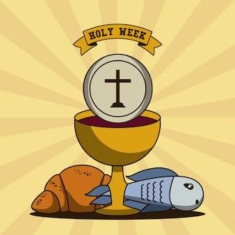 Tradición católica de la semana santa