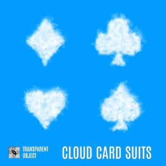 Trajes de tarjeta