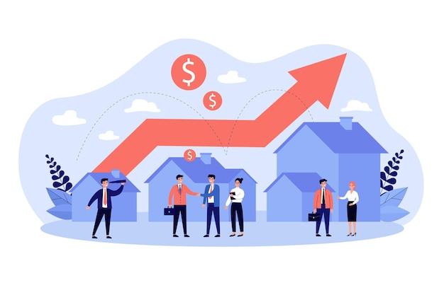 Transacción inmobiliaria y aumento del valor de la propiedad