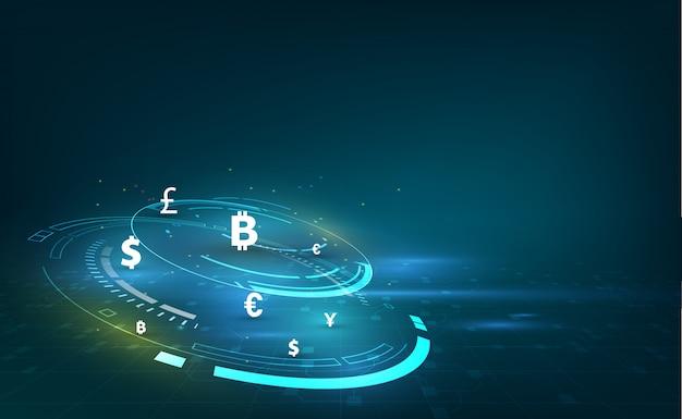 Transferencia de dinero. moneda global