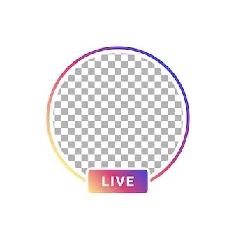 Transmisión de video de usuario de historias en vivo