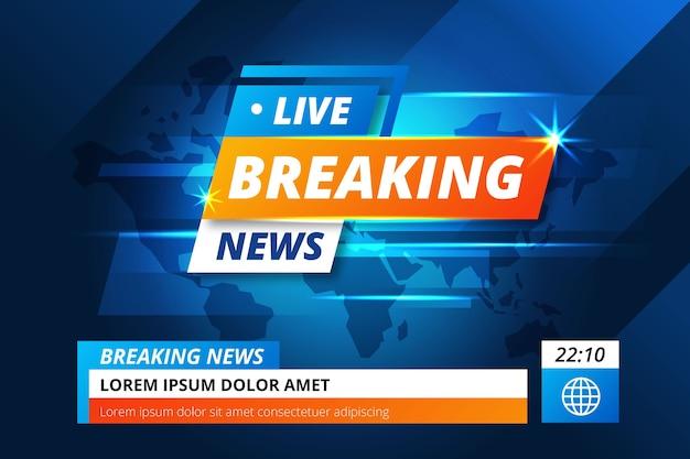 Transmisión en vivo de noticias de última hora