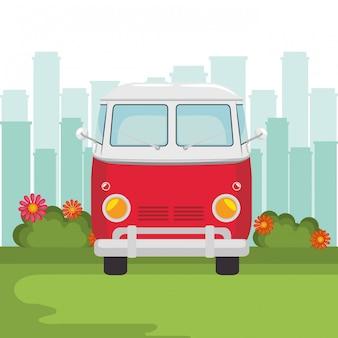Transporte hippie
