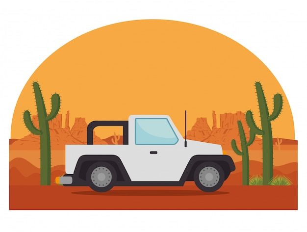Transporte de vehículos jeep