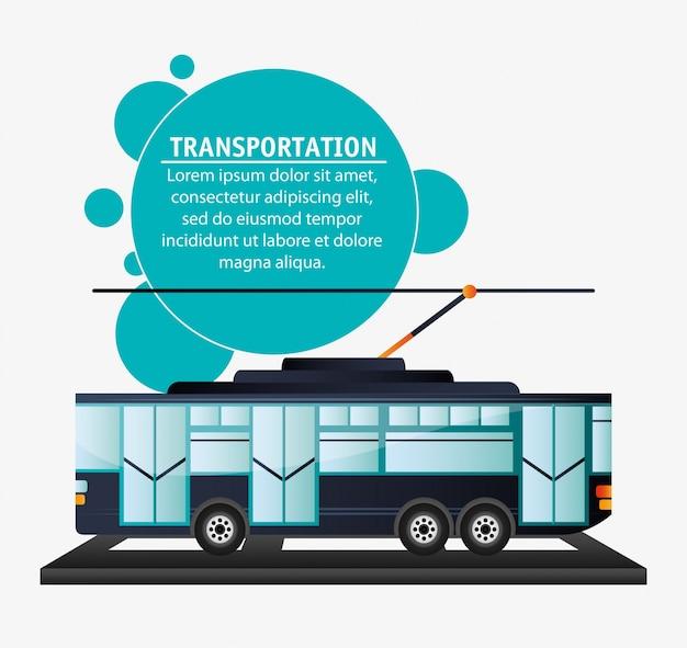 Tranvía de transporte urbano de pasajeros