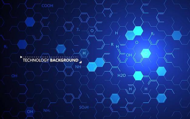 El trasfondo abstracto de la codificación genética.