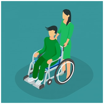Tratamiento isométrico en clínicas hospitalarias.
